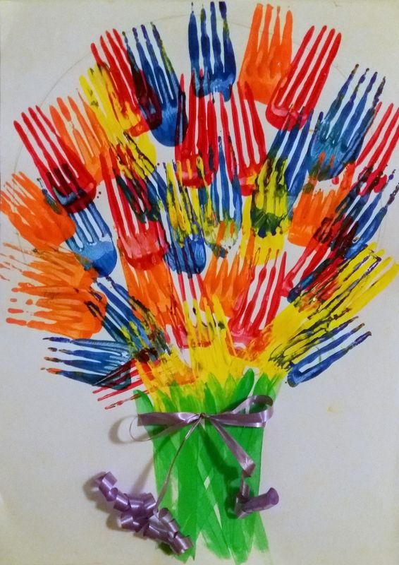 Fleurs à la fourchette - Le tour de mes idées | Faire des fleurs ...