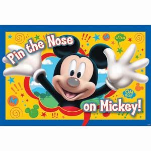 Mickey Mouse Party Game | Mickey Mouse Party Games - Pink Frosting Party Supplies