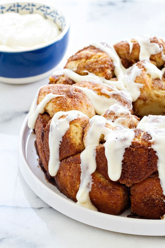 Cinnamon Pull-Apart Bread (Monkey Bread) made from scratch! So easy and delicious!