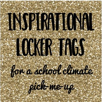 School climate need a pick-me-up? Looking for a fun, simple way to help students challenge sneaky  automatic negative thoughts?  These locker tags are just the thing! This download comes complete with 29 pages of locker tags, for a total of 125 per printing.