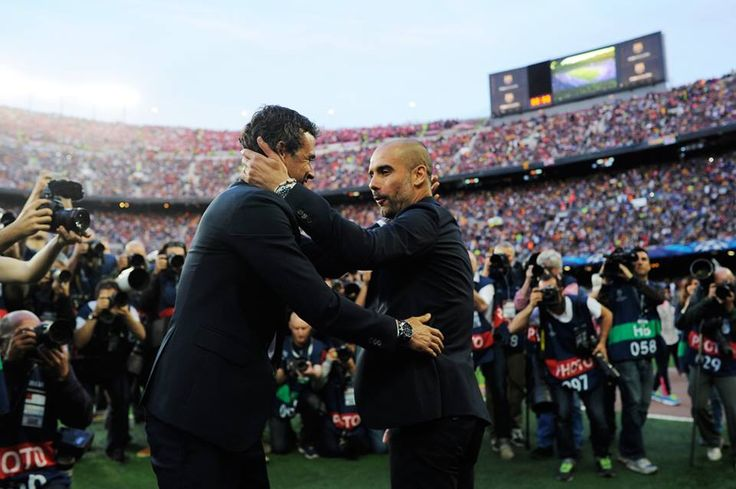 Happy homecoming? Manchester City manager Josep Guardiola will make his 2nd return to the Camp Nou as a coach next week. via @UEFA #footballplanetcom #ucl #mancity
