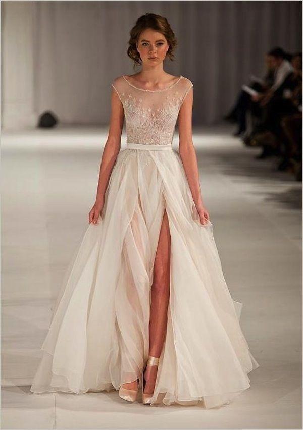 Spotlight short sleeve wedding dresses inspiration for Shorten wedding dress after wedding