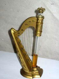 Making music with a miniature perfume bottle | Harp Perfume Bottle