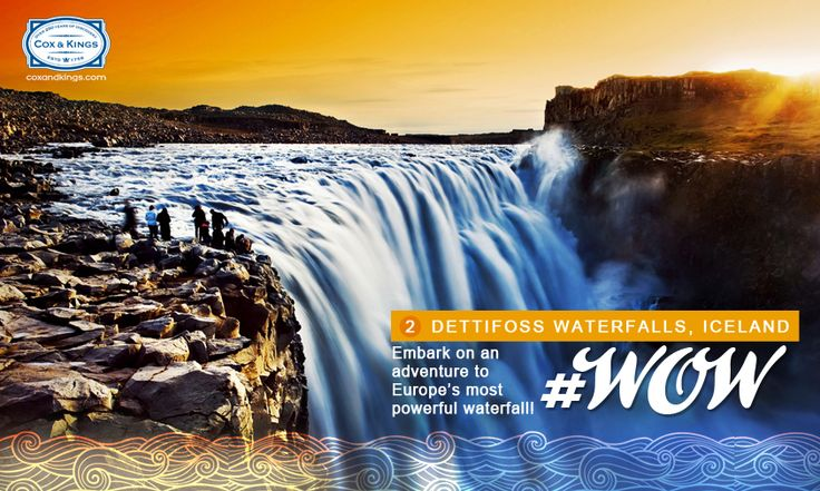 Experience the raw power of an average water flow of 193 cubic meter per second. Take in stunning views of the sediment-rich, milky white crashing falls. #WorldOfWaterfalls #travel #CnK
