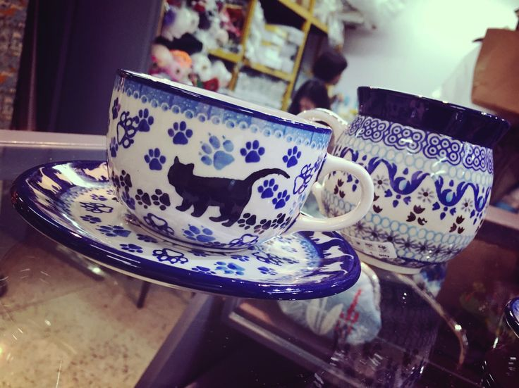 We Stock | Bunzlau Castle | Polish Ceramics | Tableware | In Store Display