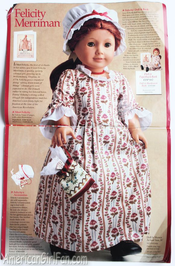 Felicity in 1997 Catalog.