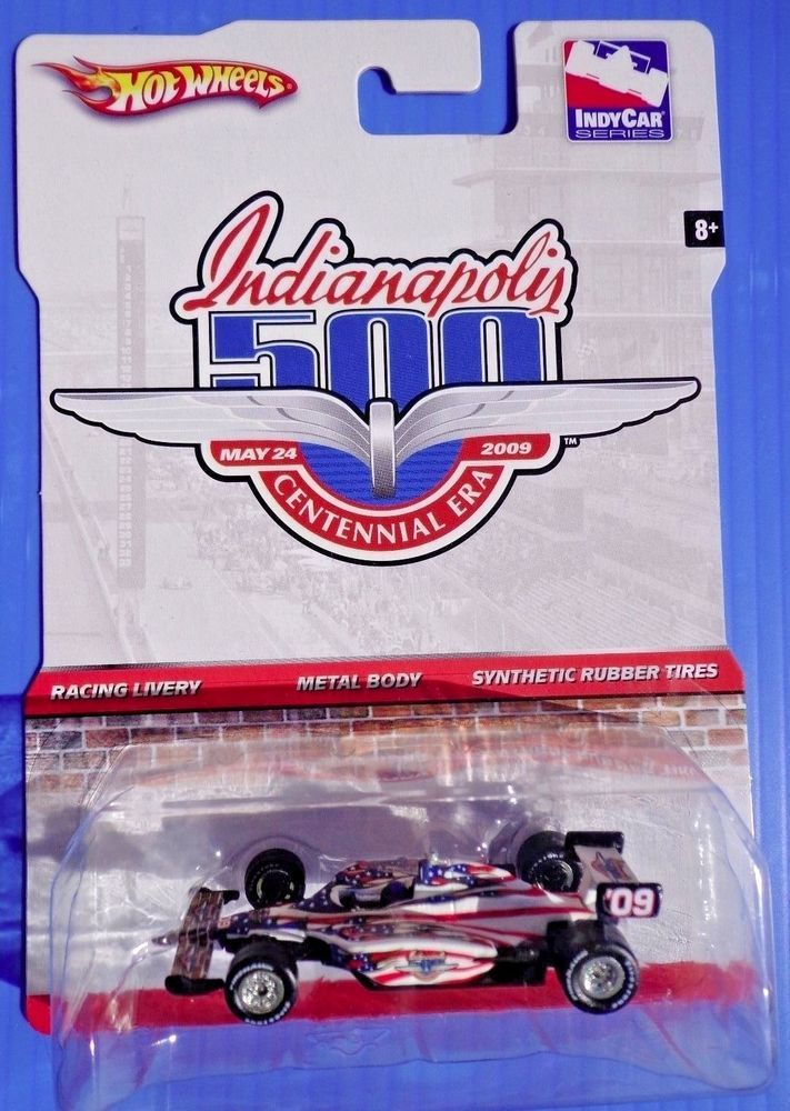 HOT WHEELS INDIANAPOLIS RACING INDY CAR SERIES LIVERY W/SYNTHETIC RUBBER TIRES #HotWheels