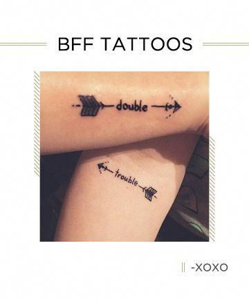 The best friend tattoos you and BFF need — because ink is forever, just like your friendship #coupletattoos #bestfriendtattoos