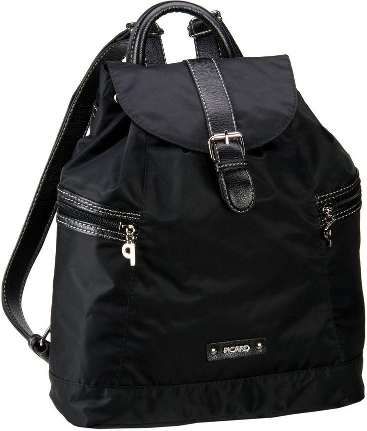 Taschenkaufhaus Picard Sonja Rucksack Schwarz - Rucksack / Daypack: Category: Taschen & Koffer > Rucksack / Daypack > Picard…%#Taschen%