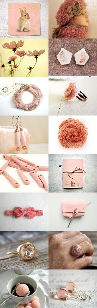 soft pink gifts by Alessia on Etsy--Pinned with TreasuryPin.com