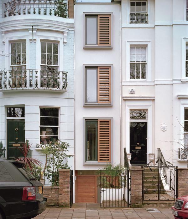 Connu Les 25 meilleures idées de la catégorie Maison étroite sur  NA49