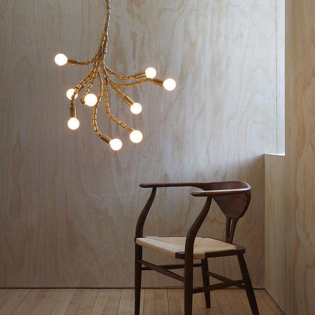 Cool Verve light fixture from Lightmaker Studio