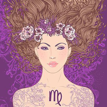 Zodiac: Virgo, The Virgin (Arist-Varvara Gorbash)