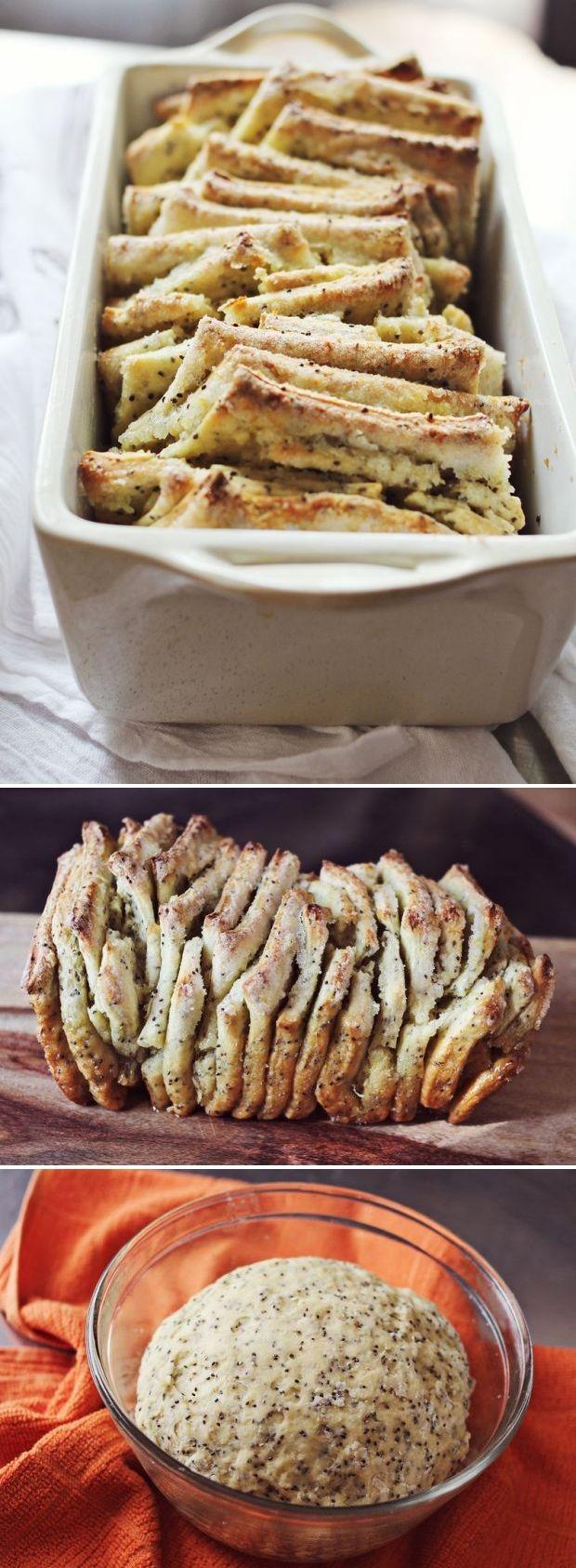 Healthy Chia Seed Recipes Lemon & Chia Seed Pull Apart Bread