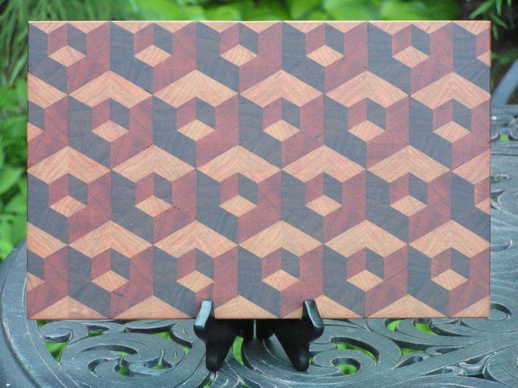 Double Tumble Cutting Board - by SPalm @ LumberJocks.com ~ woodworking community