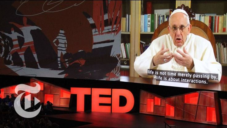 Pope Francis Urges Humble Leadership In First TED Talk | The New York Times