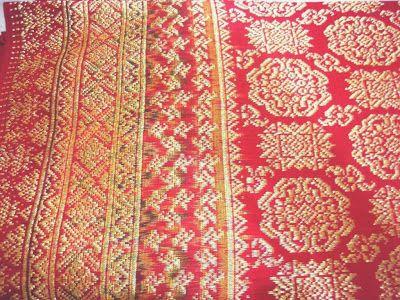 palembang songket, indonesia