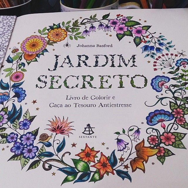 12 Best Images About Jardim Secreto On Pinterest
