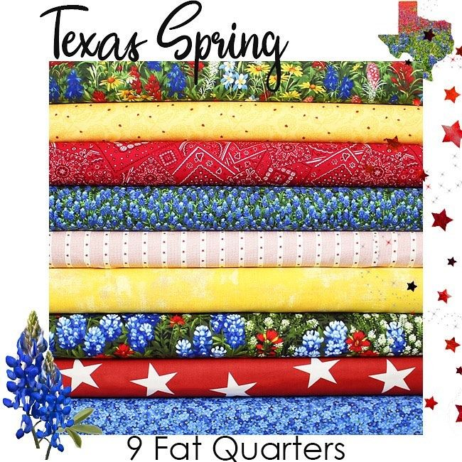 Fort Worth Fabric Studio On Instagram Our Annual Texas Spring Friday Bundle Is Available On Our Website Today Each Year We Curate Th In 2021 Fort Worth Fabric Fort
