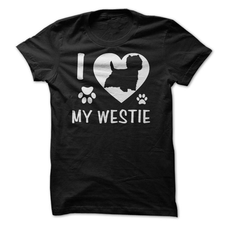 #birds #cats #cows #dogs #hamster #horse #pets #t-shirt #turtles... Awesome T-shirts (Best Sales) I Love My Westie from BazaarTshirts  Design Description: I love my Westie is a shortened identify for the West Highland Terrier. In this tshirt and hoodie design, a Westie silhouette is featured within the middle of a white coronary hear... - http://tshirt-bazaar.com/pets/best-sales-i-love-my-westie-from-bazaartshirts.html