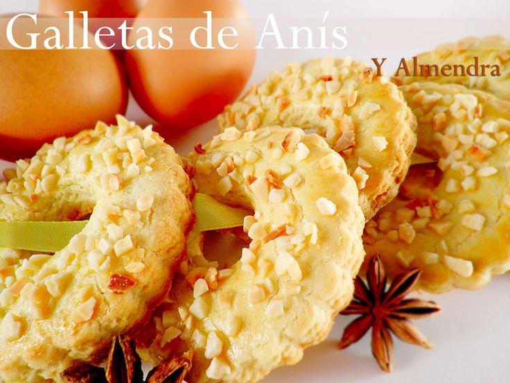 Kanela y Limón: Galletas de anís y almendra