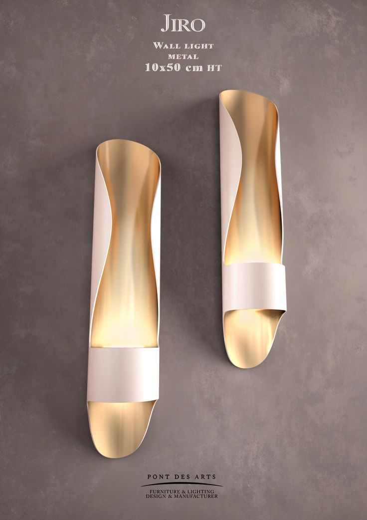 First Impression: Flipflops! Jiro Wall light - Designer MONZER Hammoud - Pont…