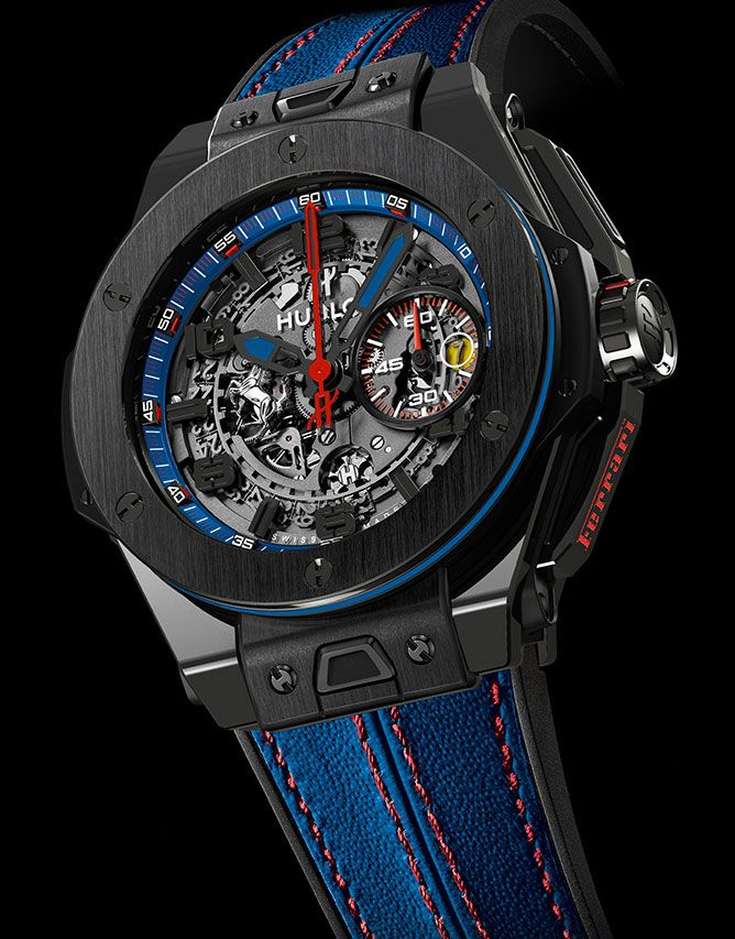 Ceasul-vedeta al colectiei Hublot Big Bang Ferrari --> Detalii pe www.luxul.ro