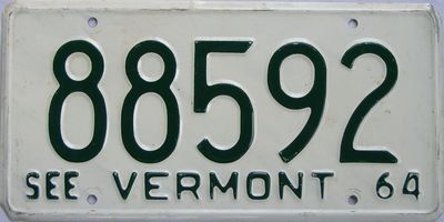 Vermont License Plates for Sale » Tag Dr.