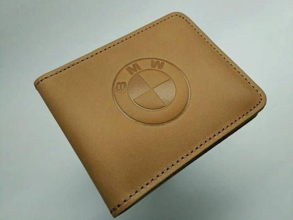 Brown leather wallet Christmas Gift Mens Wallet Leather wallet