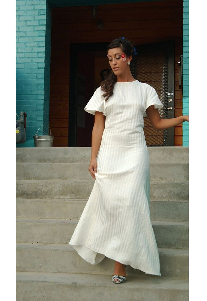 Immersion Hemp Silk Dress. Make, buy, sell - custom fit fashion - Stanfordrow.com