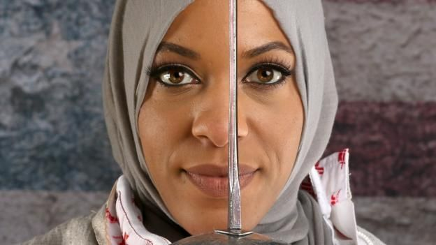 "Fencer Ibtihaj Muhammad wants to challenge the ""misconceptions"" about Muslim women as she prepares for the ""defining moment"" in her life."
