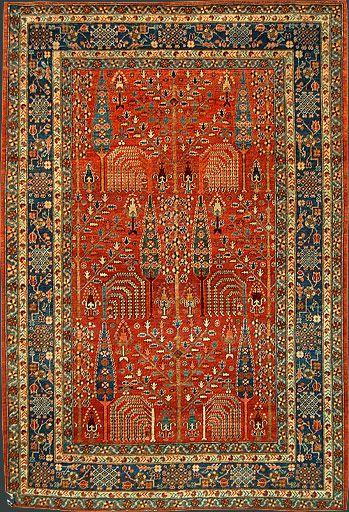 Afghan Bidjar Oriental Rug #34146