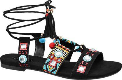 Sandale von Catwalk in schwarz - deichmann.com