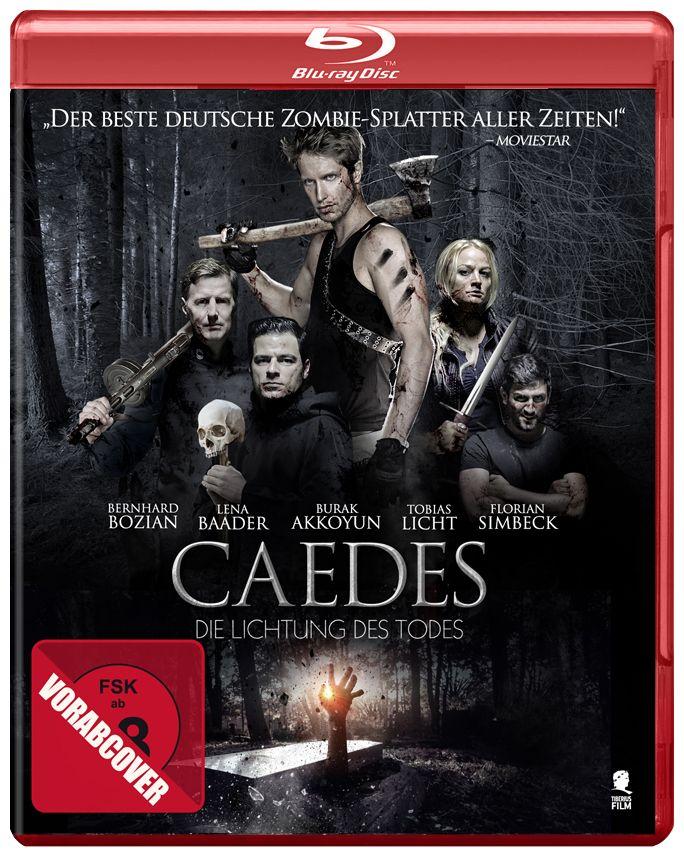 Caedes – Die Lichtung des Todes – Zombiesplatter-Komödie bekommt DVD und Blu-Ra… – horror-news