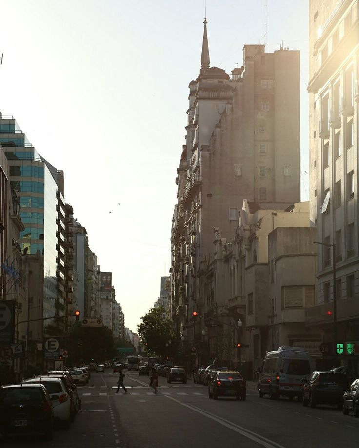 This afternoon in Microcentro Buenos Aires