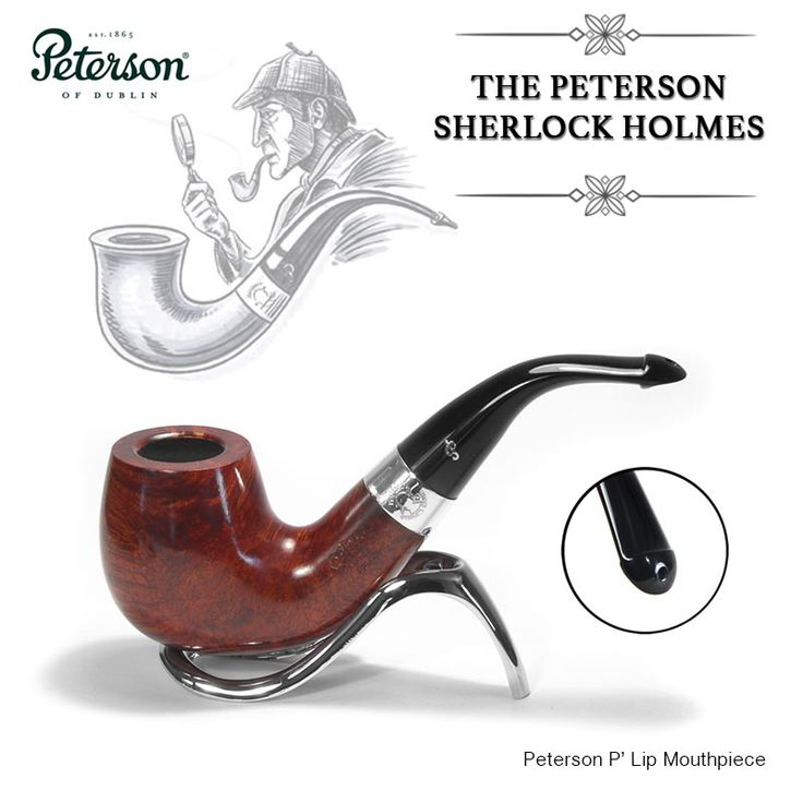 Buy Peterson Sherlock Holmes Professor Briar pipes - smoke-king online specialist tobacconist - Peterson pipe stockiest