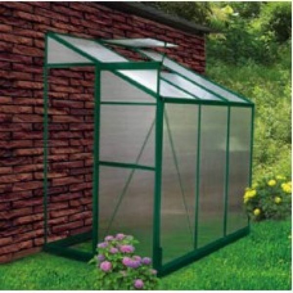 4 x 6 Lean To Greenhouse Kit - Free Shipping