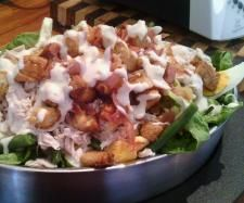 Steamed Chicken Caesar Salad Yummy Style | Official Thermomix Recipe Community