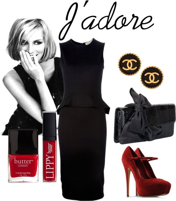 """Little black dress"" by claudia-barbara-complet on Polyvore: Dresses Sets, Dress Set, Little Black Dresses"