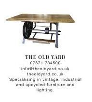 The Old Yard | Warehouse Home | Vintage | Industrial | Upcycled Furniture | Lighting #ClippedOnIssuu from Warehouse home Issue Two