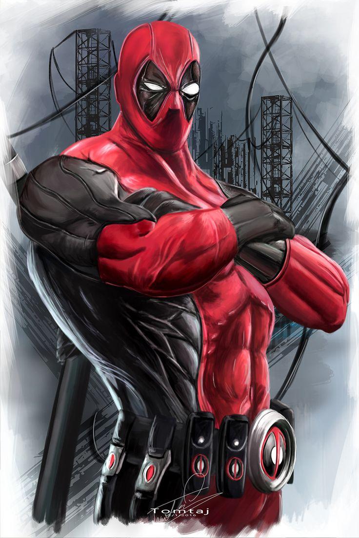Deadpool by Tomtaj1.deviantart.com on @DeviantArt