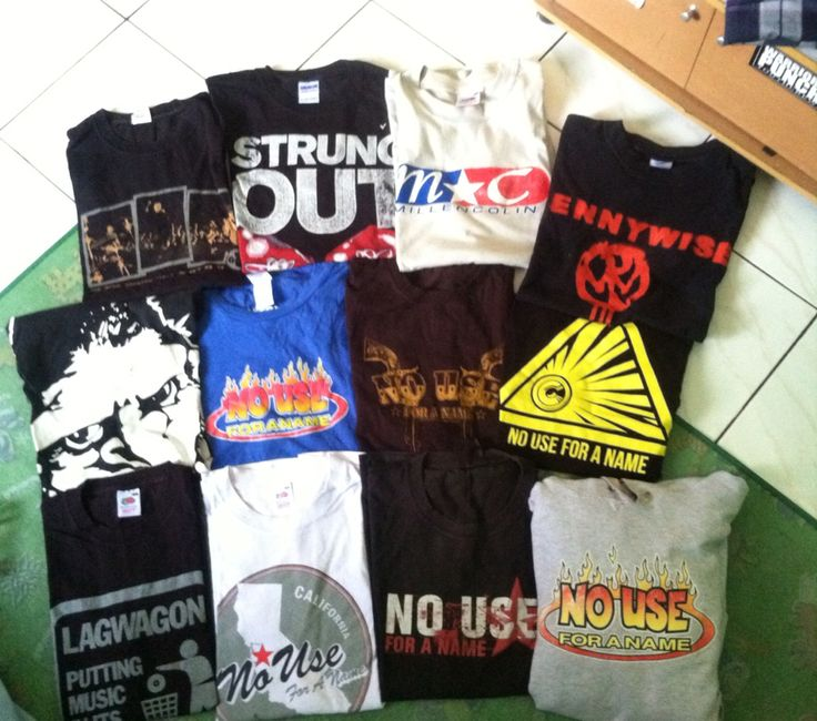 No Use For A Name / Lagwagon / Millencolin / Strung Out / Pennywise / Good Riddance / Gorilla Biscuits