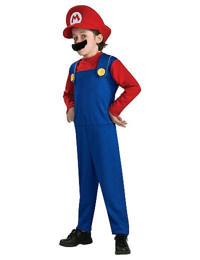 Costume di Carnevale di Super Mario
