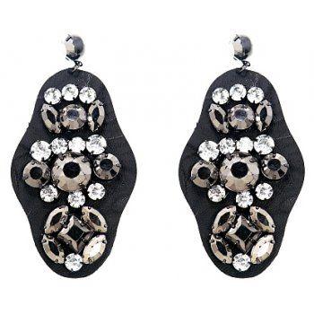 Leather + Jewel Adornment