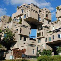 カナダ・ケベック州モントリオールに実在する集合住宅「アビタ67団地」ブロックを無秩序に積み上げたような建物にワクワクする!