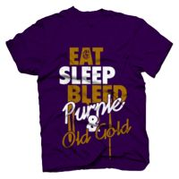 Eat Sleep and Bleed Purple and Gold http://blackgreekpride-paraphernalia.myshopify.com/collections/omega-psi-phi/products/omega-psi-phi-eat-bleed-and-sleep