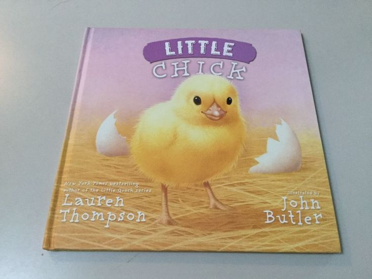 LITTLE CHICK BY LAUREN THOMPSON, YOUNG READER, HARDCOVER **NEW**