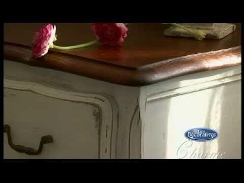 Cómo decorar, pintar, y transformar sus muebles - YouTube