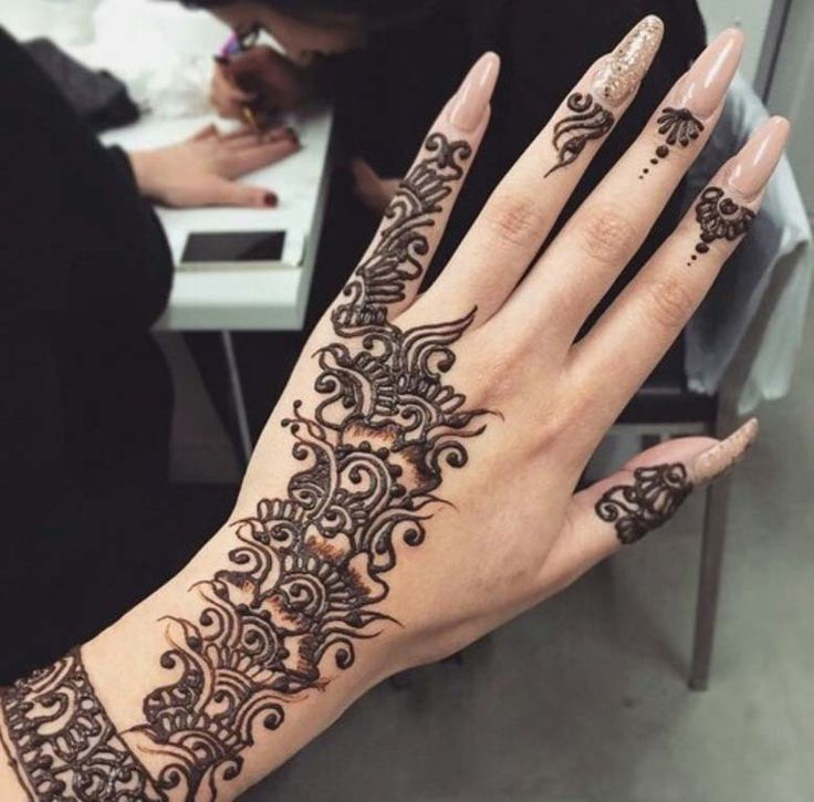 Eid Henna Beautiful Patterns