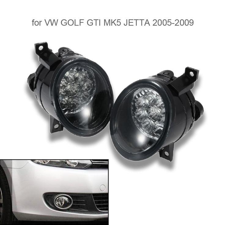 KKmoon автомобиль для укладки Пара Автомобилей 9 LED Противотуманные фары Яркий белый Лампа Левый и Правый для VW GOLF GTI JETTA MK5 2005 2009 купить на AliExpress